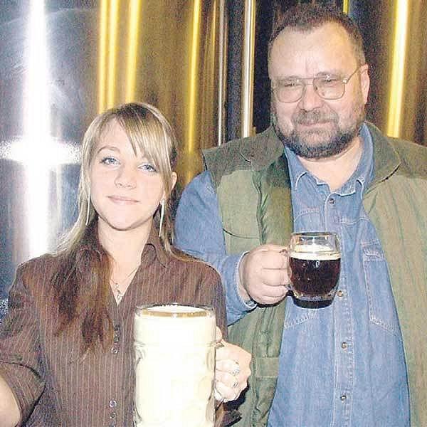 Na medové pivo je sládek Václav Baron patřičně hrdý, jde totiž o jeho vlastní nápad a recept.
