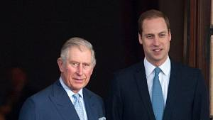Princ Charles a princ William