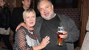 Se svou seriálovou mámou Jarkou Obermaierovou.