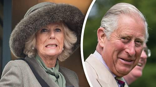 Camilla Parker-Bowlesová a princ Charles
