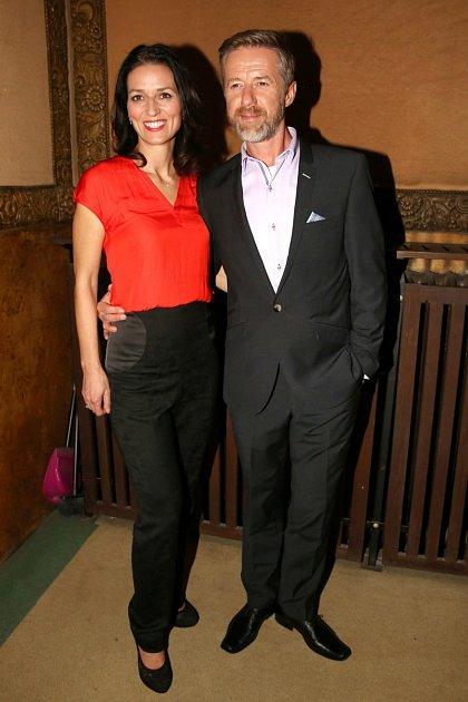 Adéla Gondíková a Jiří Langmajer tvoří pár už pár let.