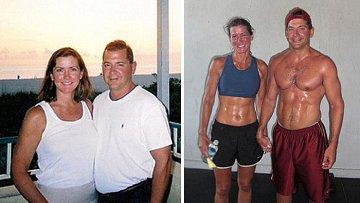 Páry, které dokázaly společně zhubnout.