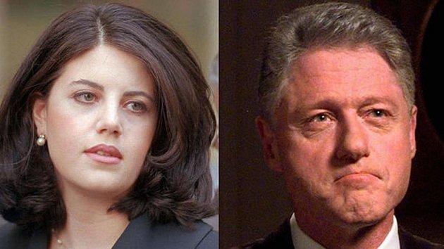 Monica Lewinská a Bill Clinton. Jejich aférka málem stála prezidenta křeslo.