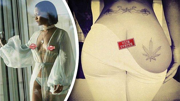 Rihanna si ve vlastní nahotě libuje.
