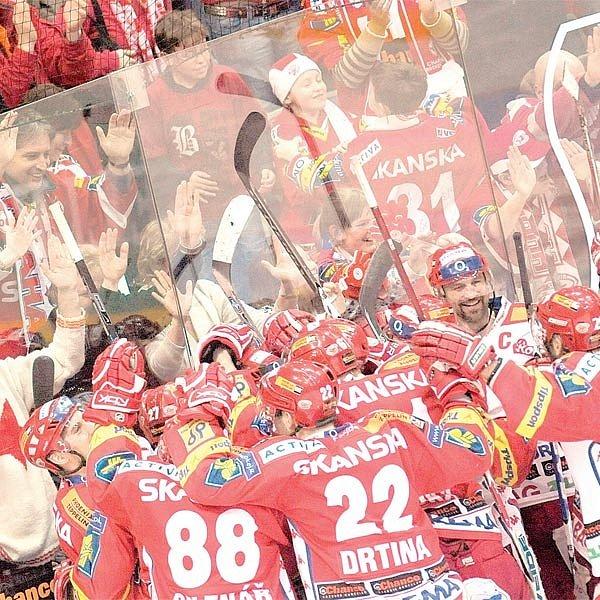 V O2 areně byl důvod k radosti, Slavia je ve finále!