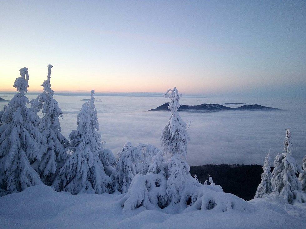 Úžasné panorama zaslala Antonina Zinhailo.