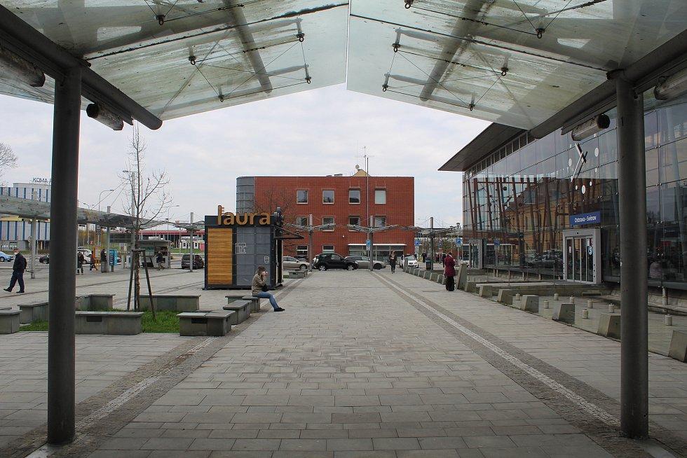 Vlakové nádraží ve Svinově.