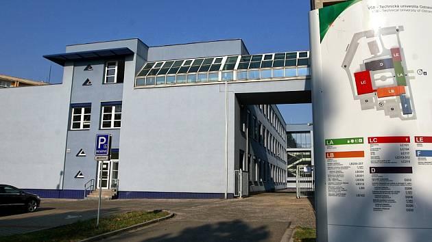 Nová budova Fakulty bezpečnostního inženýrství VŠB Technické univerzity Ostrava.