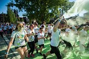 Běh Rainbow Run se koná každým rokem v areálu Dolní oblasti Vítkovice. Ilustrační snímek z předchozích ročníků.