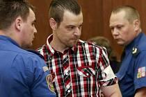 Petr Kramný, který je obžalován z vraždy manželky a dcery v Egyptě.