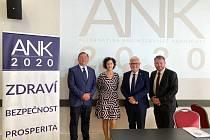 Radim Bača, Eliška Lazarová, Peter Koliba, Miroslav Koliba.