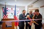 Nově otevřená pobočka Amerického centra (American Corner Ostrava), 20. zaří 2019 v Ostravě.