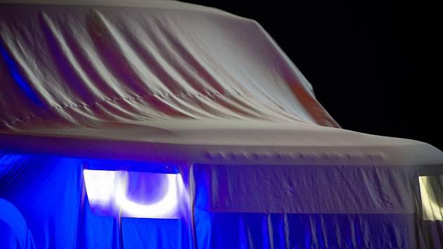 Představení nového Land Rover Defender v Ostravě.
