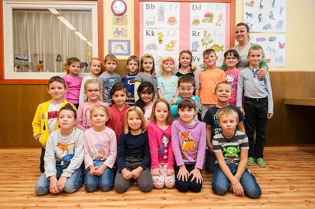 Prvňáčci - ZŠ Formana Ostrava-Dubina, třída 1.A, třídní učitelka Kateřina Kretková