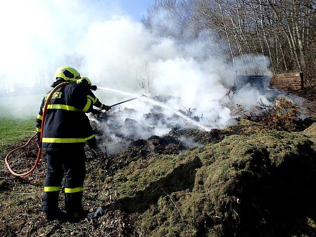 Požár Velké Albrechtice