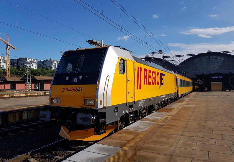 Vlaky RegioJet.