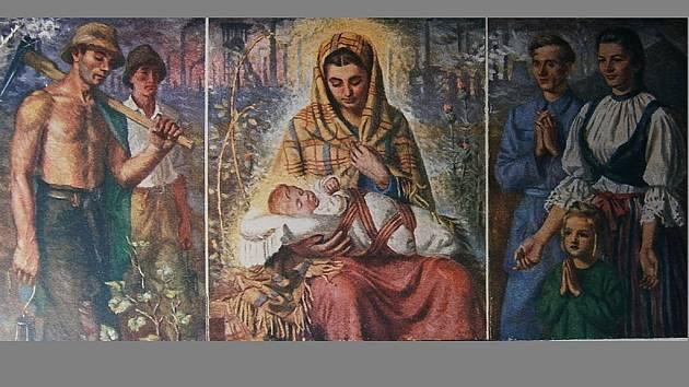 OSTRAVSKÁ MADONA. Zapomenutý obraz z roku 1941.