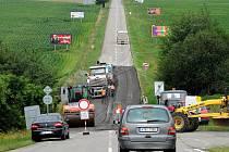 Oprava silnice komplikuje dopravu na hlavním tahu mezi Ostravou a Opavou.