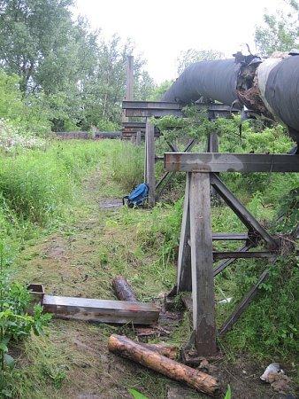 Zloději měli zálusk na kovové opláštění.