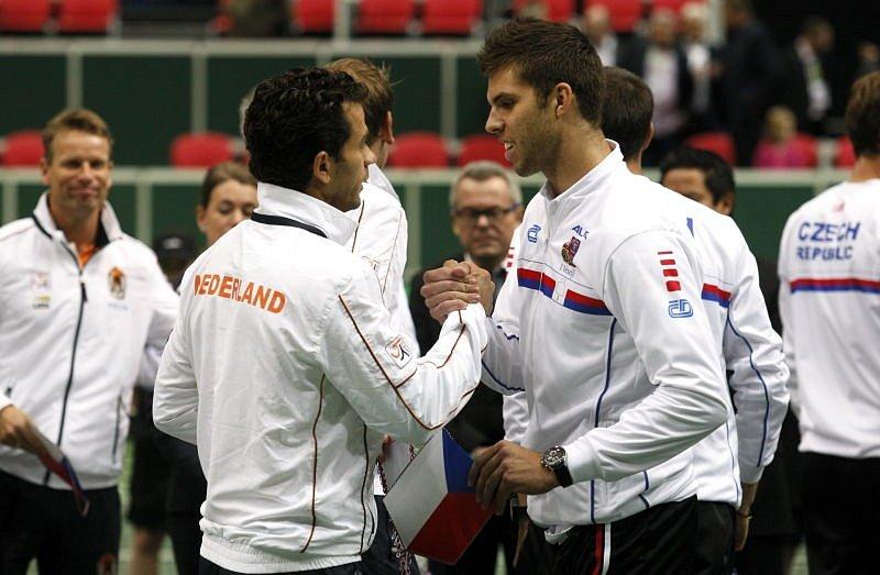 Davis Cup v Ostravě.