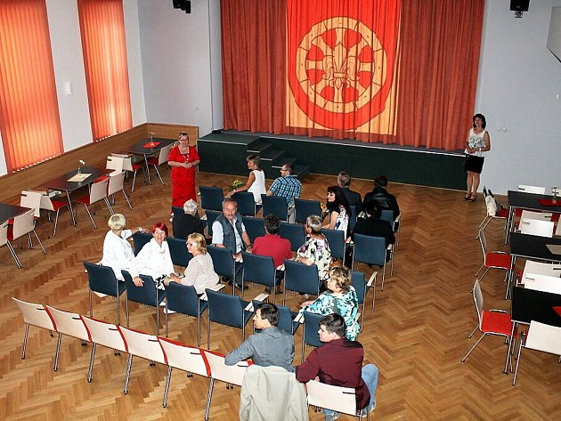 Slavnostní otevření rekonstruovaného kulturního zařízení v Hladkých Životicích.