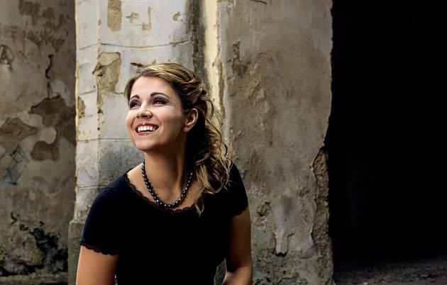 Sopranistka Kateřina Kněžíková