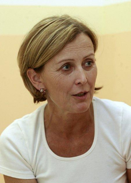Primářka krevního centra Zuzana Čermáková.