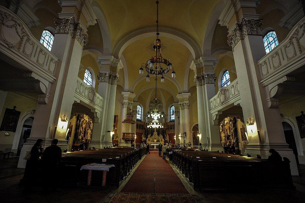Noc kostelů ve farním kostele Panny Marie Královny v Ostravě-Mariánské Hory
