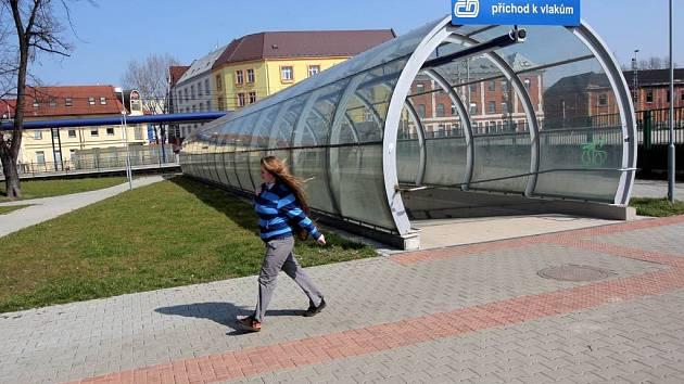 Ilustrační foto z místa přepadení poblíž železniční stanice Ostrava-Stodolní