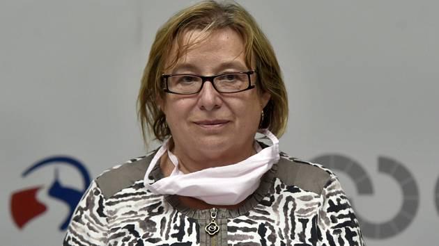 Pavla Svrčinová, ředitelka moravskoslezské krajské hygienické stanice Pavla Svrčinová.