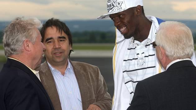 Usain Bolt v Ostravě