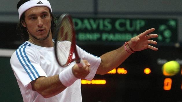 Daviscupoví tenisté i ve čtvrtek trénovali.