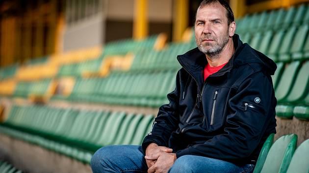 Předseda představenstva FC Hlučín Alan Jančík.