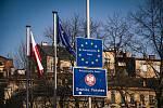 Takto nafotil situaci na hranici s Polskem mezi Českým Těšínem a Těšínem náš čtenář Martin Sojka.