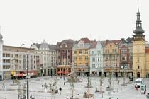 Nové Masarykovo náměstí v Ostravě.