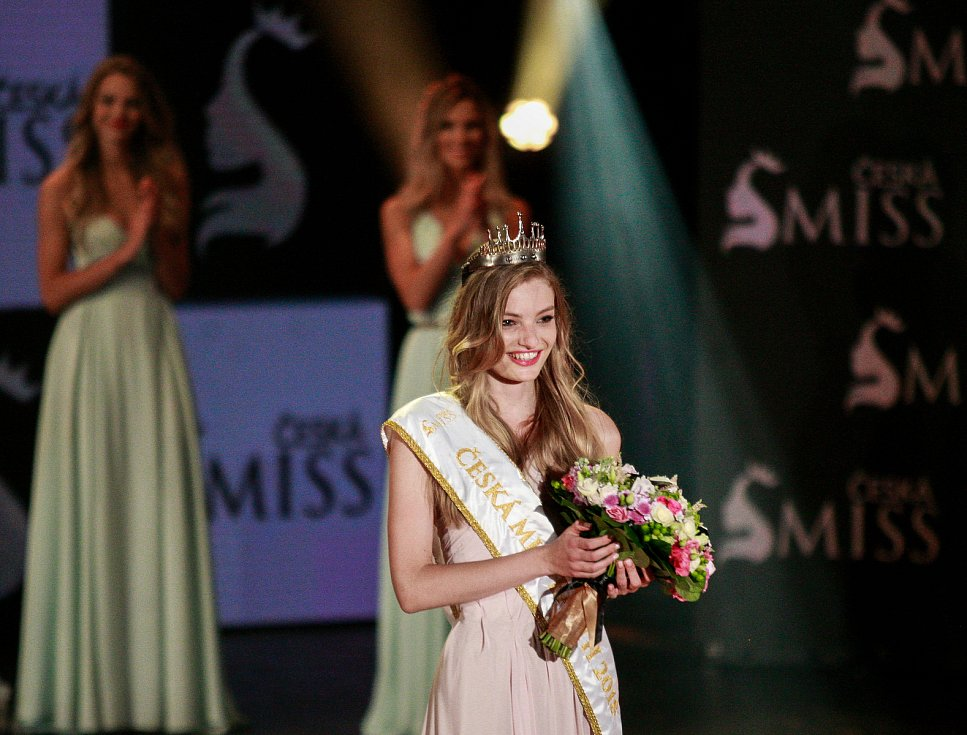 Vyhlášení české Miss 2018 v Gongu.Tereza Křivánková - třetí místo