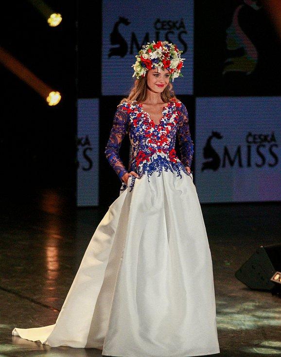 Vyhlášení české Miss 2018 v Gongu.Nikola Hemzalová