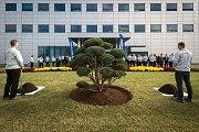 Oslavy 10. výročí zahájení sériové výroby automobilky Hyundai, 2. listopadu 2018 v Nošovicích.