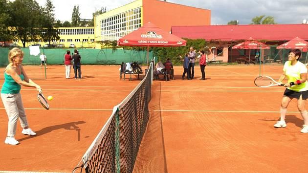 Mezinárodní hry seniorů v Porubě.