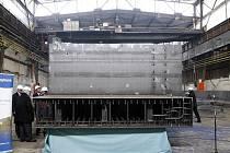 Ukázkový modul pro jadernou elektrárnu AP1000, který by mohl být použit v případě dostavby Temelína, dokončili ve společnosti Vítkovice Power Engineering.