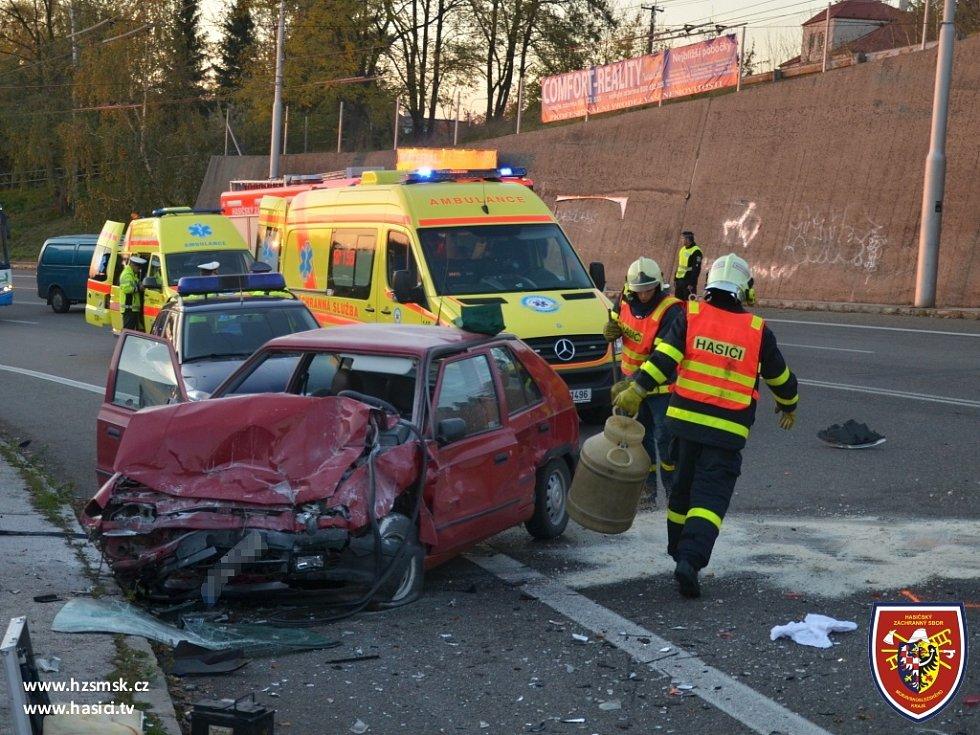 Nehoda na Bazalech.
