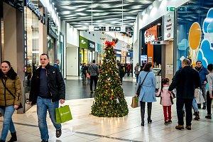 Vánoční nákupy v Ostravě