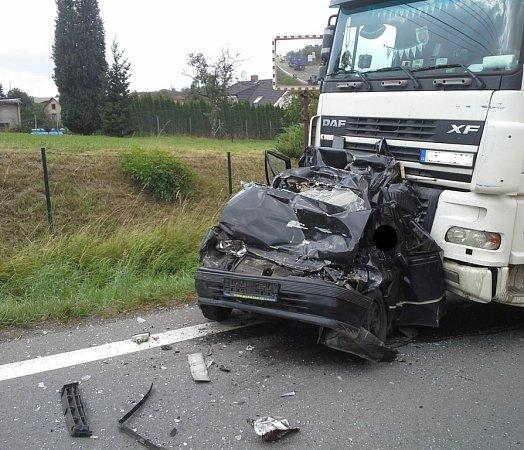Tragická nehoda vKlimkovicích.
