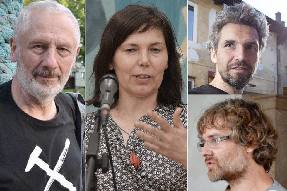 Nominace vkategorii výtvarný umělec roku získali sochař Kurt Gebauer, malířka Hana Puchová organizátoři festivalu Kukačka, výtvarníci Libor Novotný a Tomáš Knoflíček.