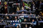 Utkání 16. kola fotbalové Fortuna ligy: FC Baník Ostrava - MFK Karviná, 8. listopadu 2019 v Ostravě. Na snímku fanoušci FC Baník Ostrava.