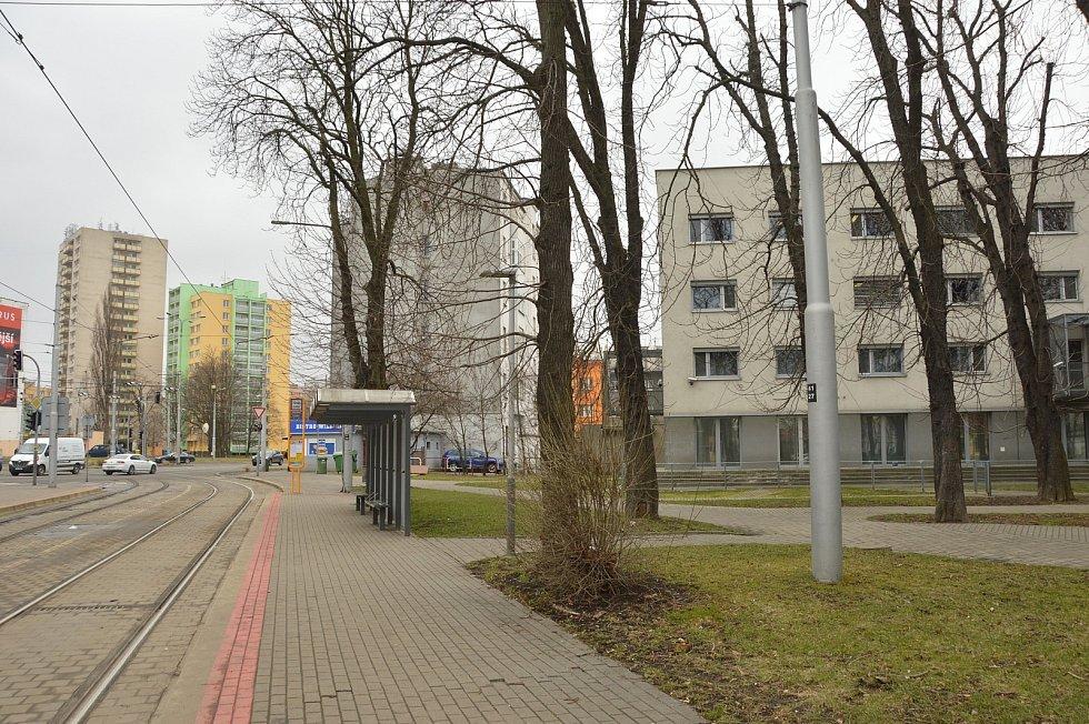 Sad Boženy Němcové v centru Ostravy dostane novou tvář za více než 13 milionů.