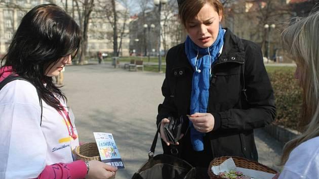 Srdíčkový den v ulicích Ostravy