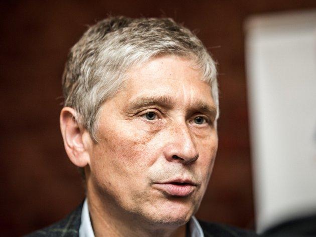 Lídr hnutí Ivo Vondrák, volební štáb ANO v Ostravě.