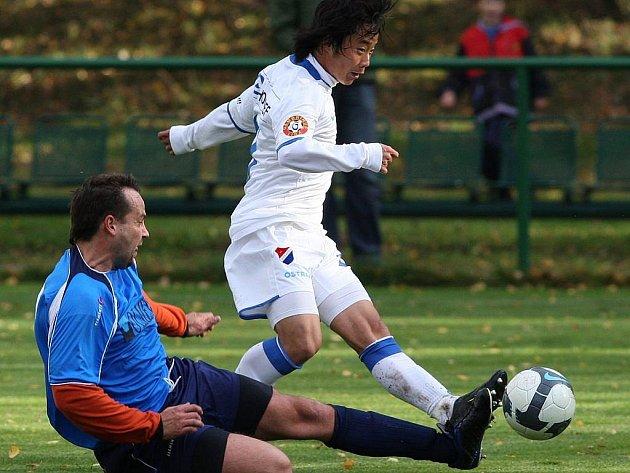 Snímky z utkání FC Baník – Markvartovice.