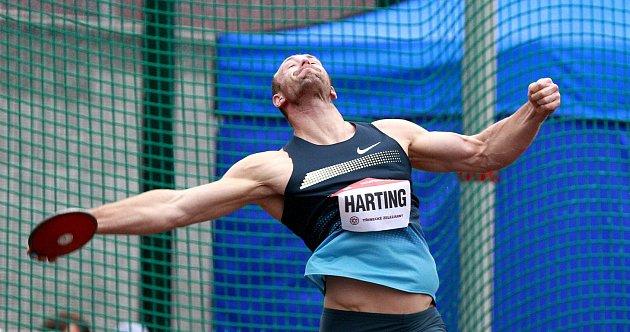 Robert Harting na Zlaté tretře 2013